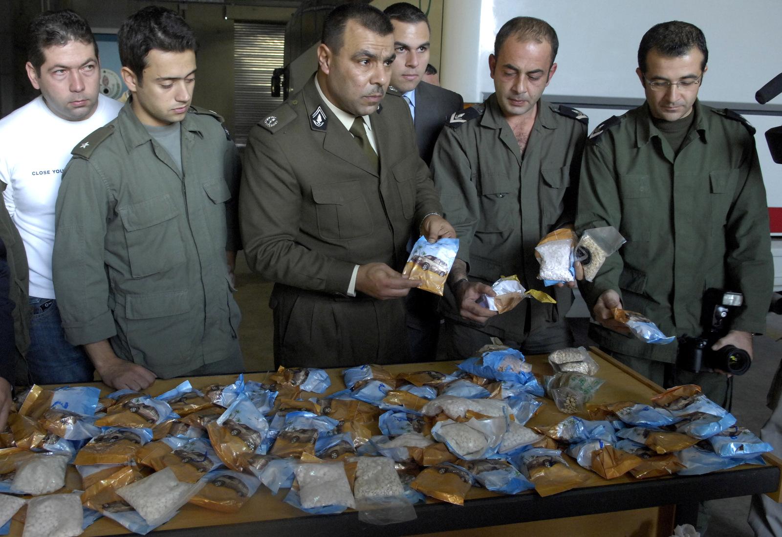 Mideast Lebanon Drugs